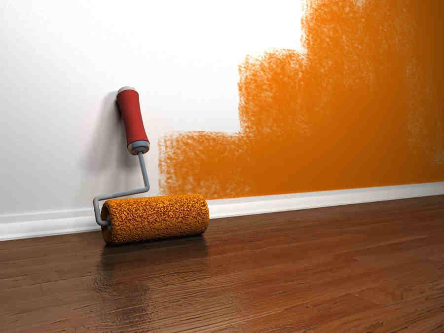 Покраска стен, правильно красим стены, расскажет профессионал